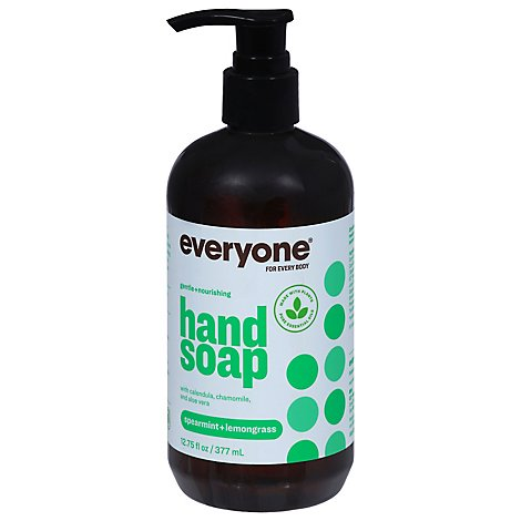 Everyone Hand Soap Spearmint + Lemongrass - 12.75 Fl. Oz.