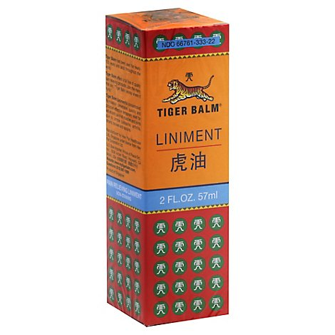 Tiger Balm Liniment Family Size - 2 Oz