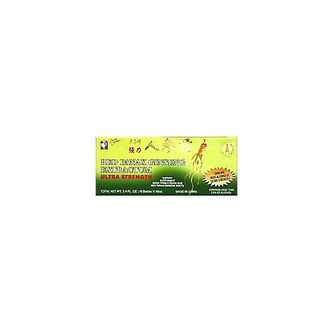 Princ Ginseng Panax Red Extractum - 3.4 Oz