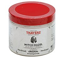Thaye Witch Hazel Pads Orgnl - 60 Count