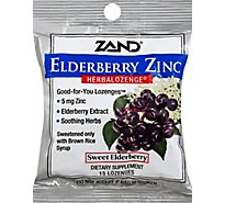 ZAND HerbalOzenge LOzenges Elderberry Zinc Black Elderberry Flavor - 15.0 Count