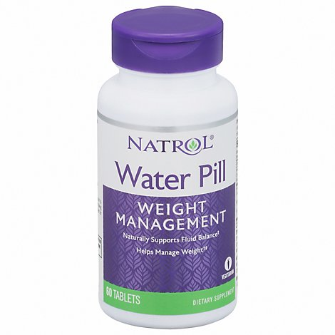Natrol Water Pill Tablets - 60 Count