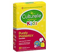 Culturelle Kids Probiotic Supplement Natural Bursting Berry Flavor Chewables - 30 Count
