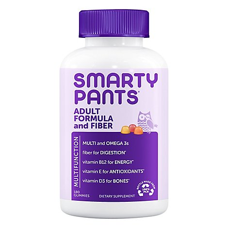 Smar6 Adult Complete Plus Fiber - 180.0 Count