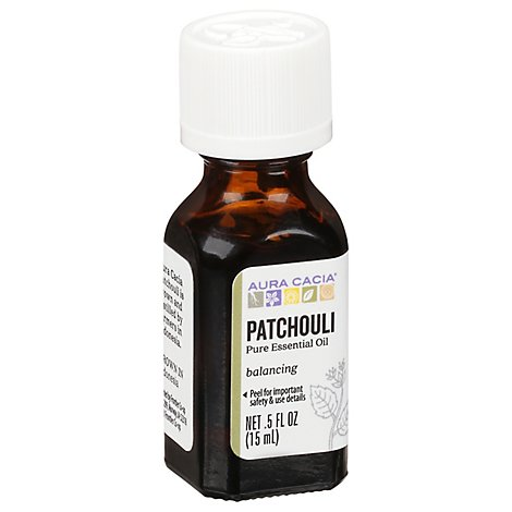 Aura Cacia Essential Oil 100% Pure Patchouli - .5 Fl. Oz.