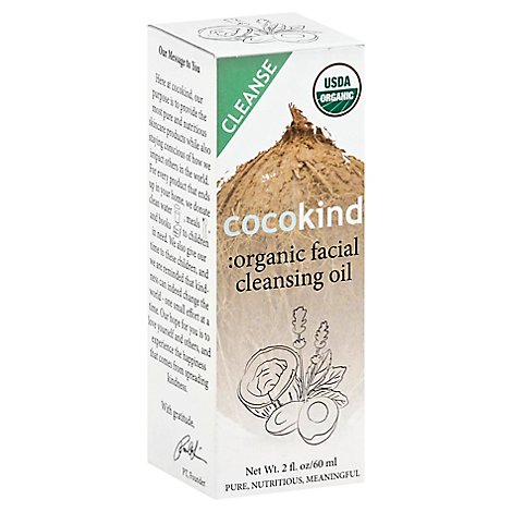 Cocokind Facial Cleansing Oil Organic - 60 Ml