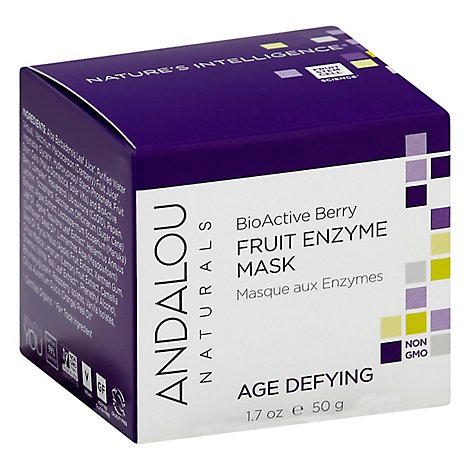 Andalou Naturals Enzyme Mask Age-Defying BioActive 8 Berry - 1.7 Fl. Oz.