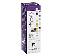 Andalou Naturals Revitalize Serum Age Defying Fruit Stem Cell - 1.1 Fl. Oz.