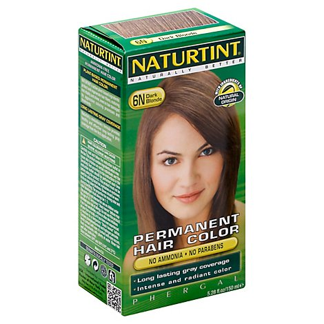Naturtint Permanent Hair Color Dark Blonde 6N - 5.28 Oz