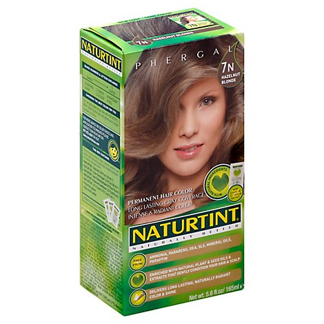 Naturtint Hair Color Permanent Hazelnut Blonde 7N - 5.28 Oz