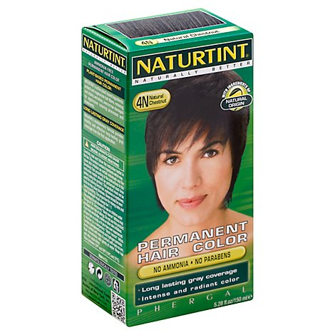 Naturtint Hair Color Permanent Natural Chestnut 4N - 5.28 Oz