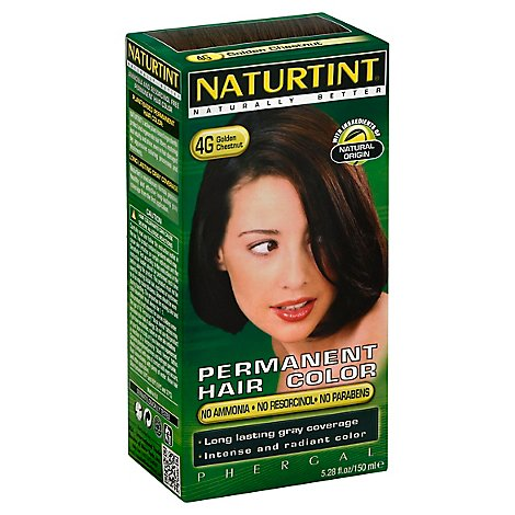 Naturtint Hair Color Permanent Golden Chestnut 4G - 5.28 Oz