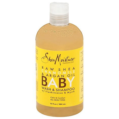 Shea Moisture Baby Wash & Shampoo Head-to-Toe Raw Shea Chamomile & Argan Oil - 13 Oz