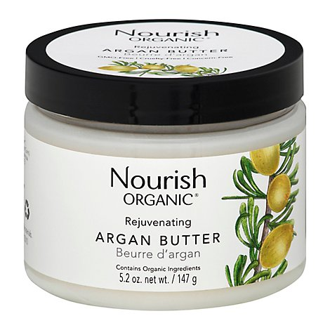 Nourish Organic Argan Butter Rejuvenating - 5.2 Oz