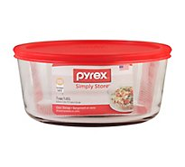 Pyrex Simply Store Glass Storage 7 Cup Round - Each