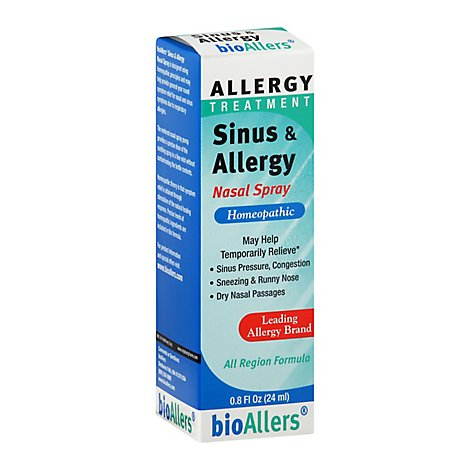 Bioal Allergy Nasal Spray - .8 Oz