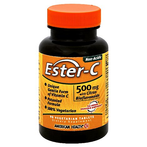 Amhth Ester C 500mg Ctrs Bioflvnds - 90.0 Count