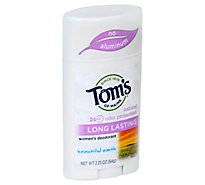 Toms Of Maine Deodorant Womens Long Lasting Beautiful Earth - 2.25 Oz