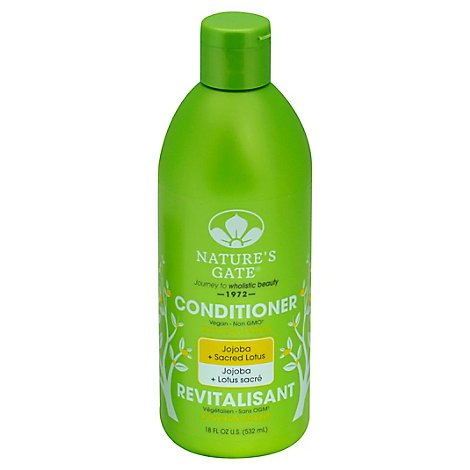 Natures Gate Conditioner Jojoba Revitalizing - 18 Oz