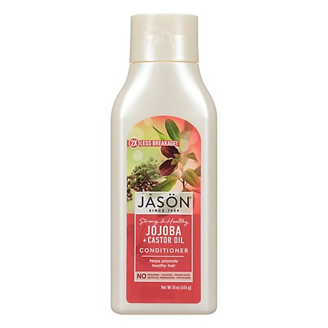 Jason Conditioner Pure Natural Long & Strong Jojoba - 16 Oz