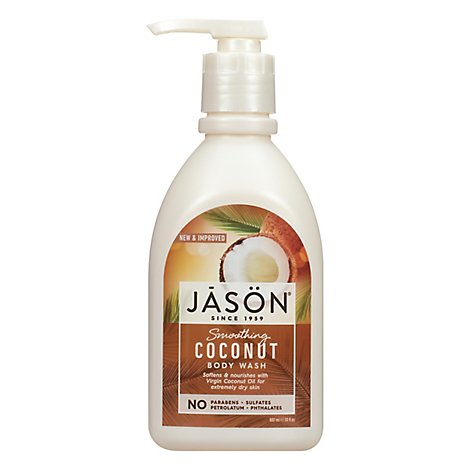 Jason Body Wash Smoothing Coconut - 30 Oz