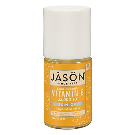 Jason Vitamin E Extra Strength 32 000 IU Skin Oil - 1 Oz