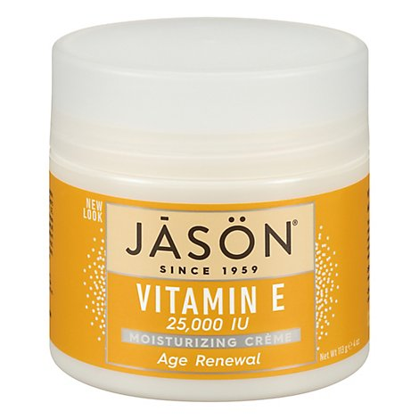 Jason Moisturizing Creme Age Renewal - 4 Oz