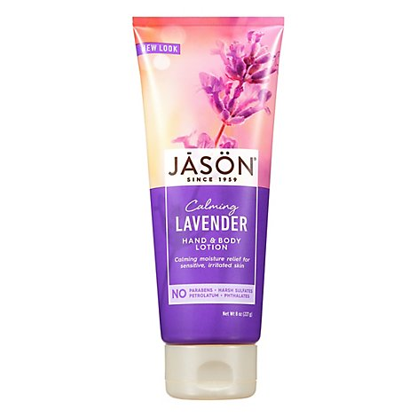 Jason Hand & Body Lotion Calming Lavender - 8 Oz