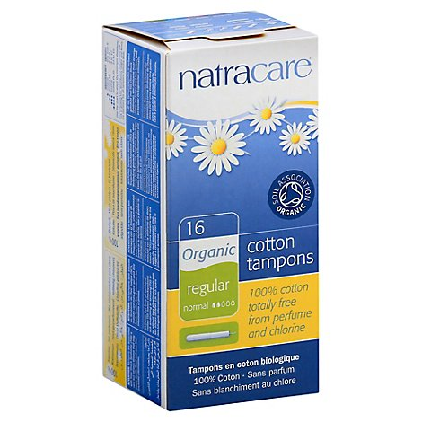 Natracare Tampons With Applicator - 16 Count