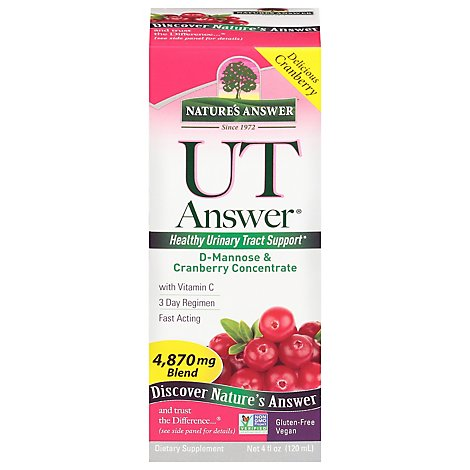 Natures Answer UT Answer Concentrated 3 Day Regimen - 4 Oz