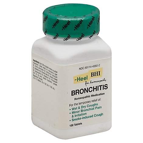 Bhi Bronchitis - 100.0 Count