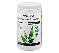 Nutiva Nutiva Hemp Protein Powder - 16 Oz
