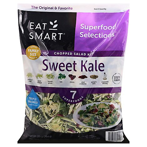 Eat Smart Sweet Kale Salad Kit - 28 Oz