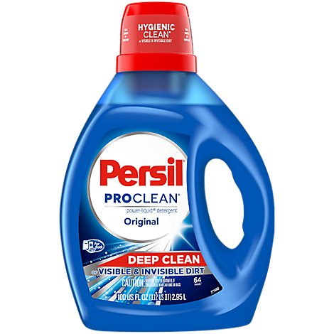 Persil ProClean Laundry Detergent Power Liquid Original - 100 Fl. Oz.