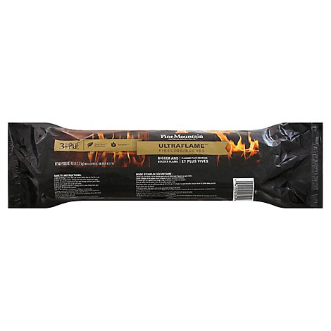 Pine Mountain Ultraflame Firelog 6x3 - Each