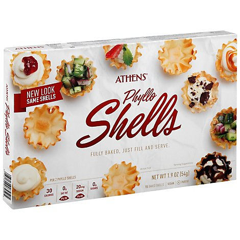 Athens Phyllo Shells 15 Count - 1.9 Oz