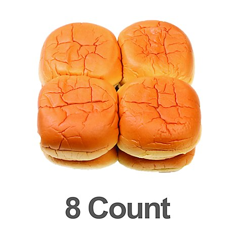 Bakery Rolls Hamburger Egg Deluxe - 8 Count