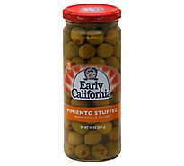 Early California Olives Manzanilla Pimiento Stuffed - 10 Oz