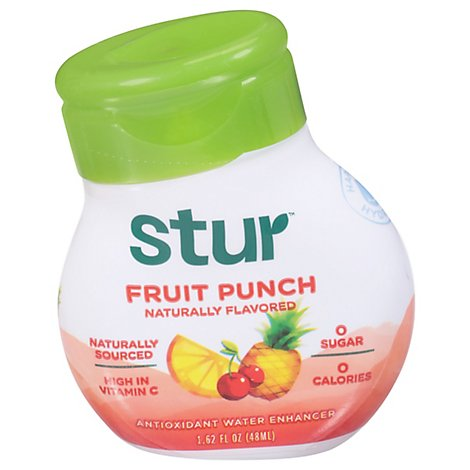 Stur Liquid Fruit Punch Vitamin - 1.4 Oz