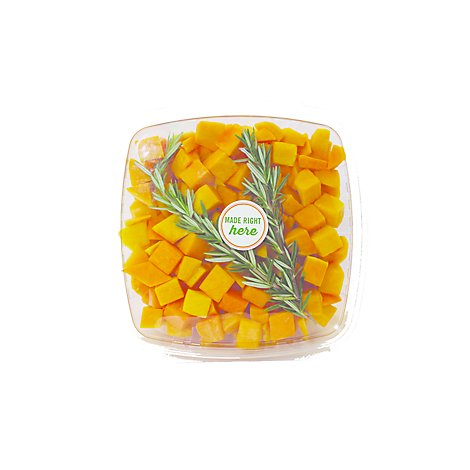 Butternut Squash With Rosemary Cubed - 38 Oz