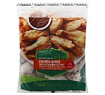 Signature Farms Individually Chicken Wings Frozen - 48 Oz