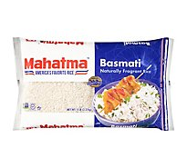 Mahatma Rice Basmati Bag - 5 Lb