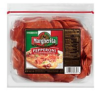 Margherita Pepperoni Sliced - 16 Oz