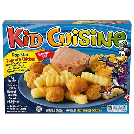 Kid Cuisine Snowstorm Popcorn Chicken Disney Frozen - 8.65 Oz