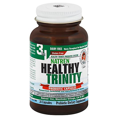 Natre Healthy Trinity Df - 14 Count