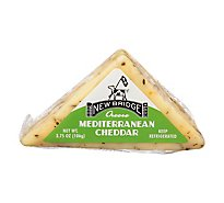 New Bridge Cheddar Mediterranean Mini - 3.75 Oz