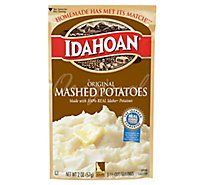 Idahoan Potatoes Mashed Original Pouch - 2 Oz