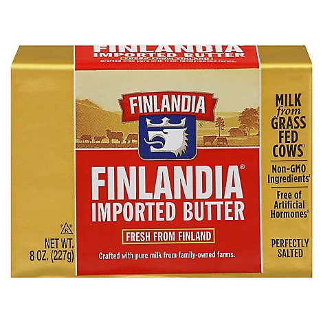 Finlandia Imported Butter Perfectly Salted - 7 Oz