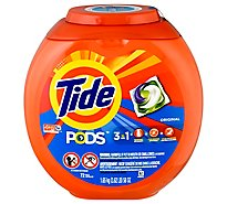Tide PODS Detergent Pacs Original - 72 Count
