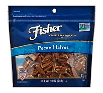 Fisher Chefs Naturals Pecan Halves - 10 Oz
